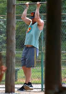 Matthew Mcconaughey Wears A Shirt While Working Outbig Bummer by Matthew Mcconaughey Sculpts Strapping While On