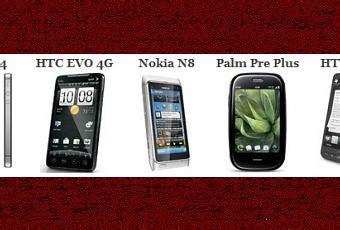 comparazione telefonia mobile confronto iphone 4 vs hd2 vs n8 vs evo 4g vs palm pre