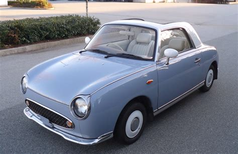 nissan figaro this cute nissan figaro is a japanese unicorn carscoops