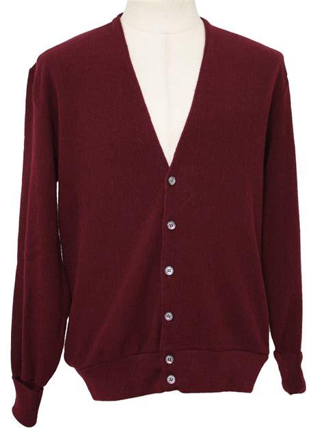 Crd Sweater Newback Maroon retro 1980 s caridgan sweater puritan 80s puritan mens maroon acrylic longsleeve cardigan