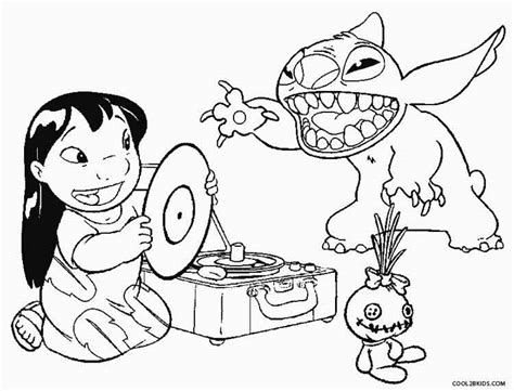 lilo and stitch hula coloring pages coloring pages