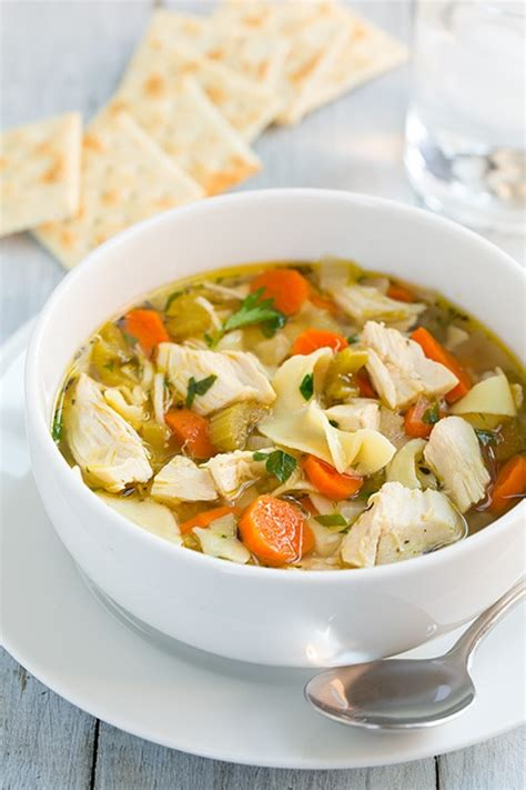 slow cooker chicken noodle soup cooking classy