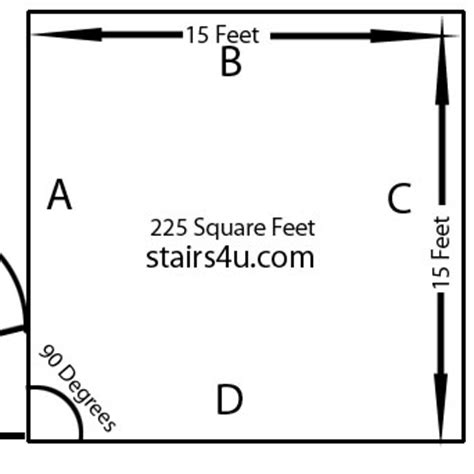 how to calculate dimensions from square feet room design tips get house design ideas