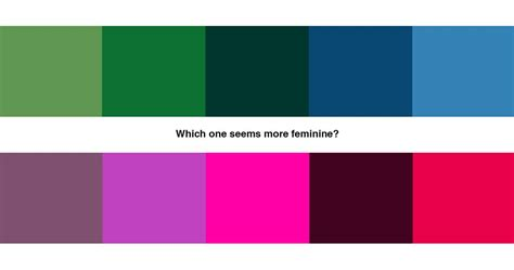 masculine colors leveraging stereotypes in design masculine vs feminine