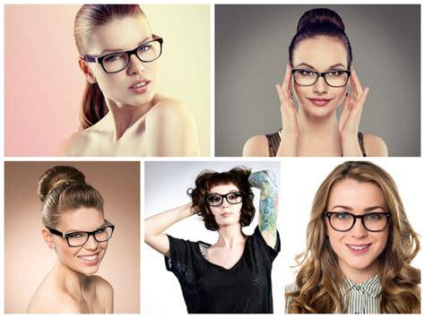 frisurenstyling fuer brillentraeger eyewear styling