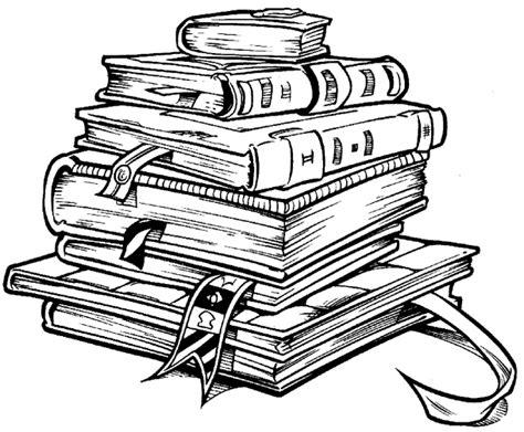 imagenes a blanco y negro de libros mi colecci 243 n de dibujos dibujos de libros