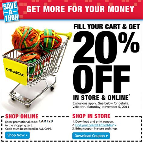 Office Max Coupon Code by Free Printable Coupons Office Max Coupons