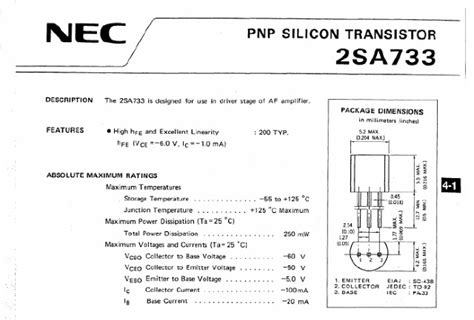 c945 npn transistor datasheet a733 transistor circuit 28 images nannasin28 electronic components knowledge a733 datasheet