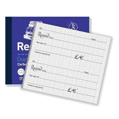 100 mm receipt template challenge duplicate receipt book carbonless 100 sets 105