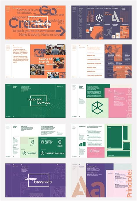 Visual Style Guide Template Gallery Template Design Ideas Coworking Membership Agreement Template