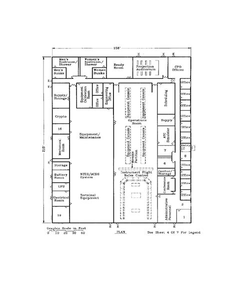 joint layout plan figure 14 joint control facility medium density building