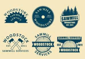 sawmill logo vectors download free vector art stock