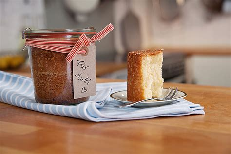 kuchen im glas verschenken rezept kuchen im glas rezept mit bild chefkoch