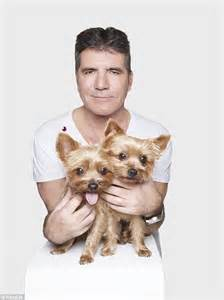 simon cowell dogs simon cowell teams up with dogs in rankin photo shoot for cruelty free international