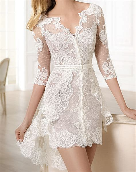 imagenes de vestidos de novia por el civil impactantes vestidos de novia cortos para boda civil