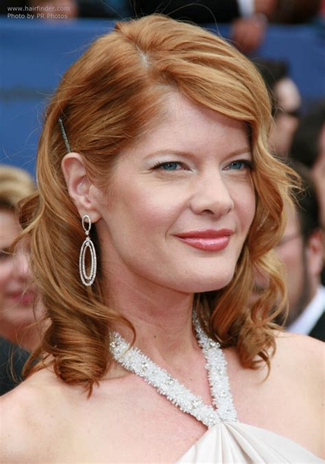 k michelle spiral curls michelle stafford s festive hairstyle with spiral curls