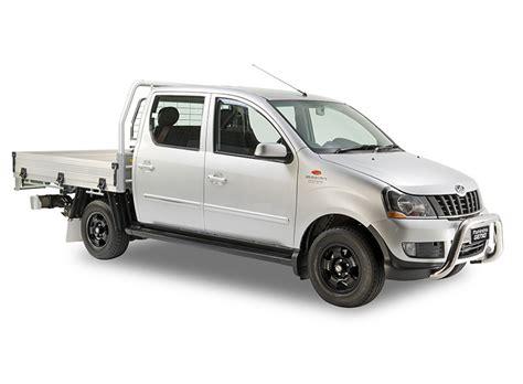 lada genio 2018 mahindra genio dual cab variant front angle indian