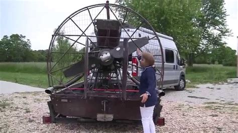 airboat with outboard motor missouri wind and solar air boat motor for our wind tunnel