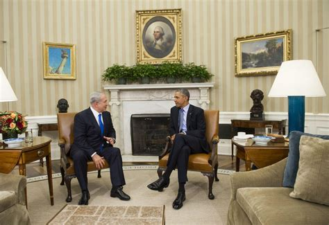 oval office over the years obama netanyahu meet for first time in over a year wamc