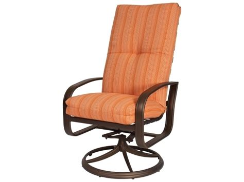 High Patio Chairs - high back swivel rocker patio chairs coral coast