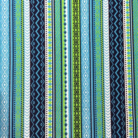 aztec print upholstery fabric blue aztec print fabric cotton polyester by fabricsupplier