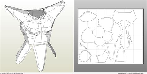 iron foam armor templates foamcraft pdo file template for saiyan armor