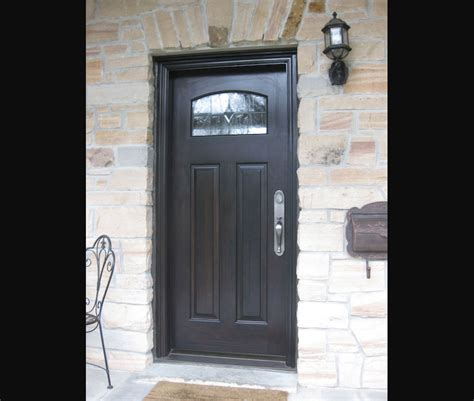 Single Exterior Door Exterior Doors Single Entry Doors Amberwood Doors Inc