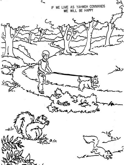 hagar and angel colouring pages