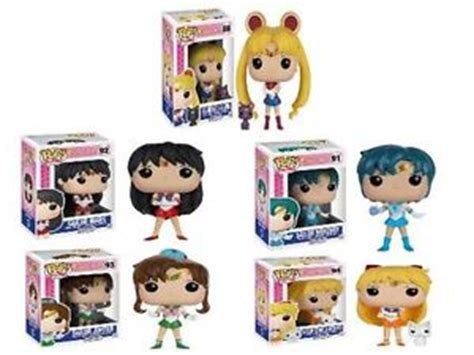 Original Funko Pop Anime Sailor Mercury Vynil Figure funko pop sailor moon sailor scout pack stylized vinyl figure anime set new ebay