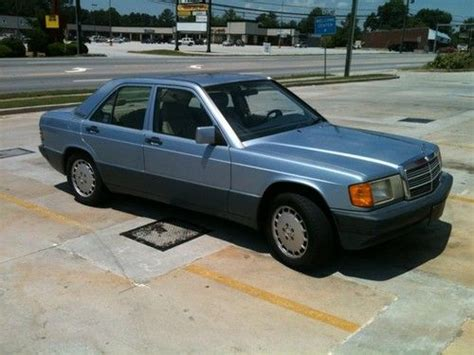 sell used 1992 mercedes benz 190e 2 6 in toccoa georgia united states