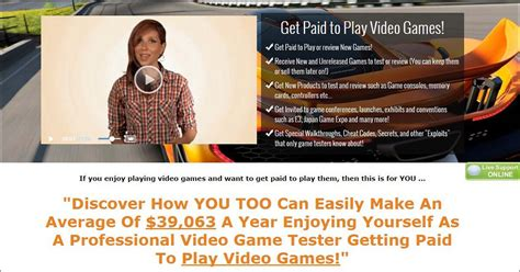 Get Paid To Work From Home Online - what is gaming jobs online get paid to play video games let s work online
