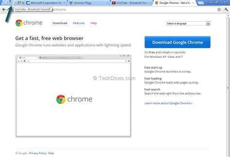 chrome tab enabling stacked tabs in chrome techdows
