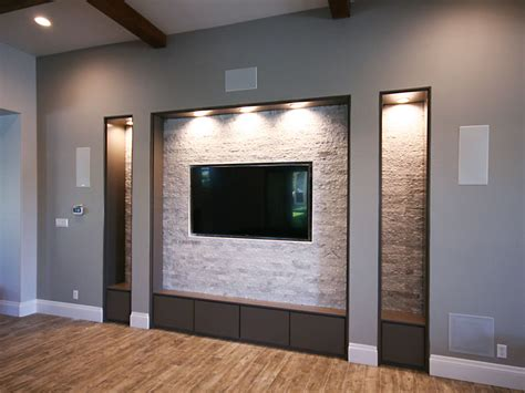 Home Recessed Lighting Design tv niche roxton custom home remodeling