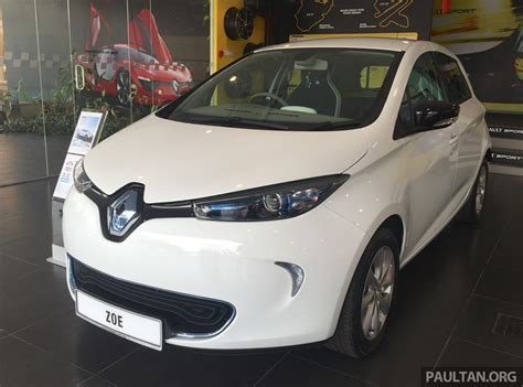 renault malaysia renault zoe electric vehicle now available in malaysia