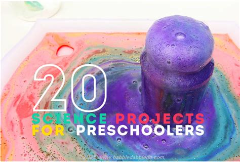 fun science project for young kids 20 science projects for preschoolers