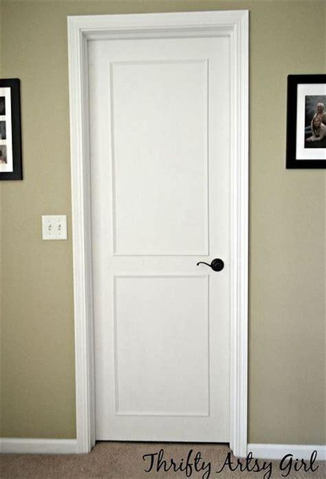 diy paneled door   budget   diy door door
