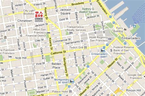 san francisco map of chinatown directions progressive association