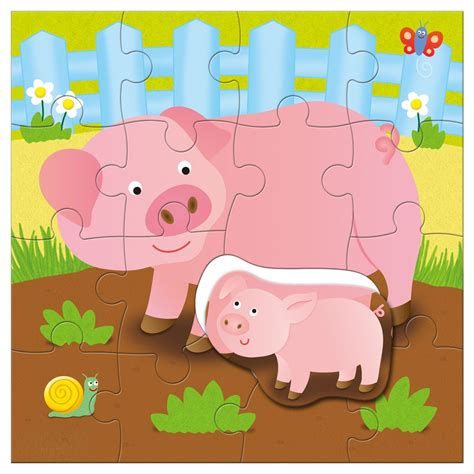Baby Animal Puzzle and baby puzzle farm puzzles learning