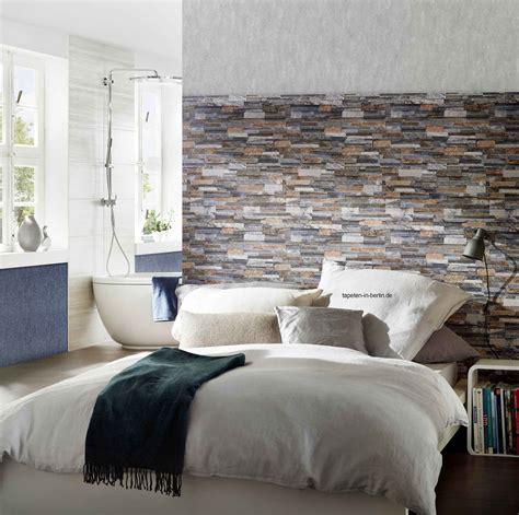 design na foto steintapeten in 3d optik grau beige braun wohnzimmer
