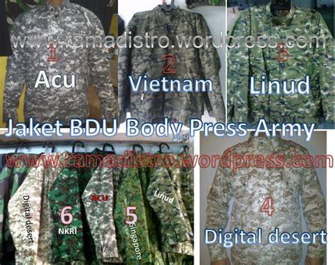 Trening Jaket Loreng Anak jual aneka barang perlengkapan militer tni polri satpam