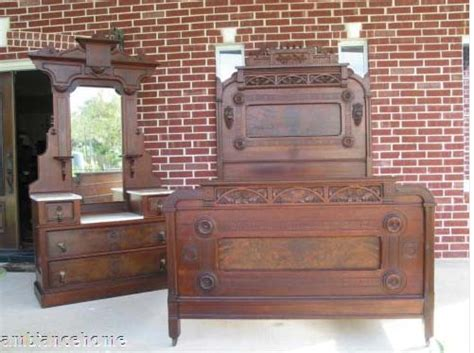 Beds And Dressers For Sale Antique American Bed And Dresser Suite For Sale