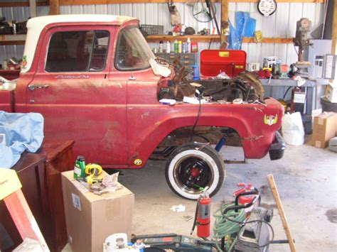 1960 f 100 bed rat rod rod project truck for
