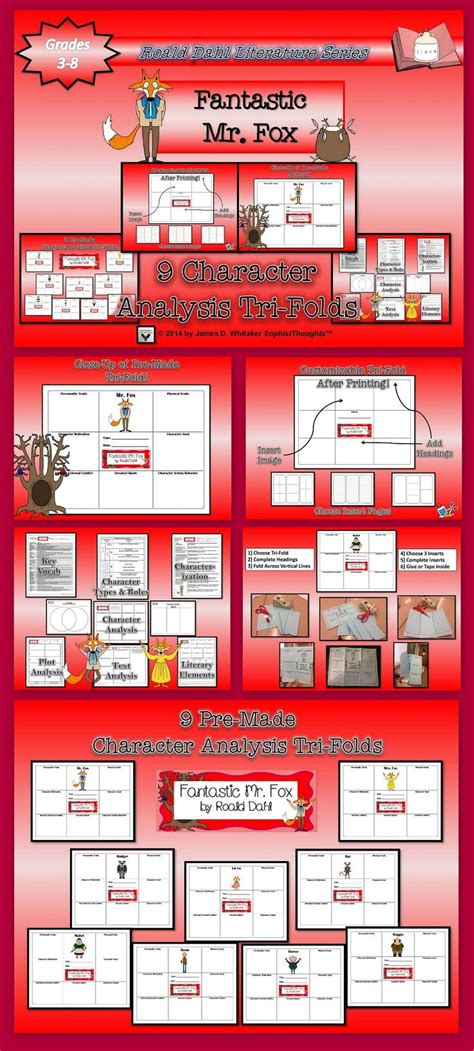 fantastic mr fox book report 17 best images about trifold board display ideas on