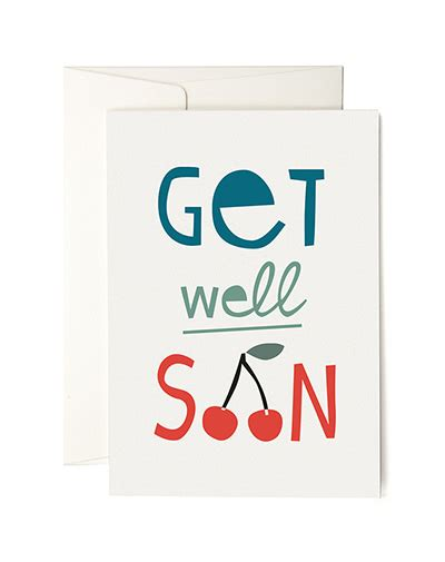 Get Well Soon Andre by Wenskaart Get Well Soon The Stationery Store