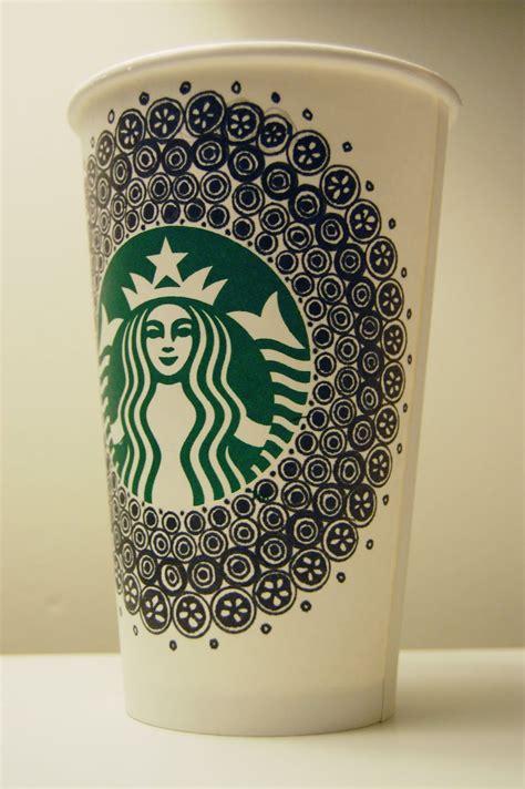 doodle starbucks cup downtown doodler s doodles june 2011