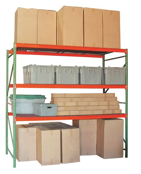 Shelf Span wire decking for wide span shelving warehouse rack and shelf