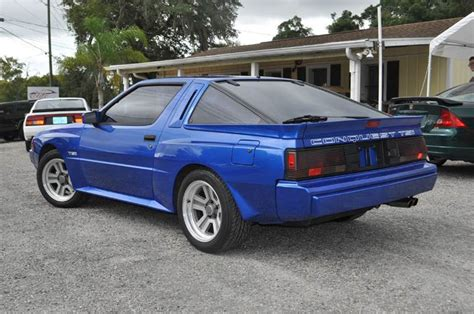 1989 chrysler conquest tsi turbo 2dr hatchback in deland fl elite motorcar llc
