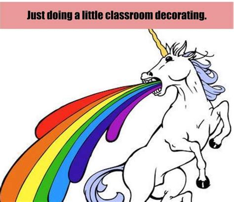 Unicorn Rainbow Meme - 15 memes only art teachers will understand the art of ed