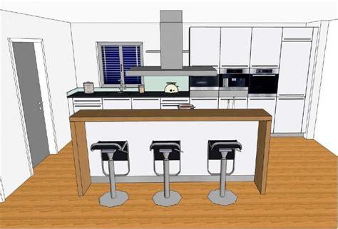 küche mit mittelinsel k 252 chen u form mit insel dockarm