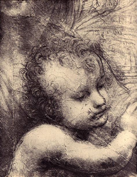 Leonardo Da Vinci 2477 by The Gallery For Gt The And Child With St Da